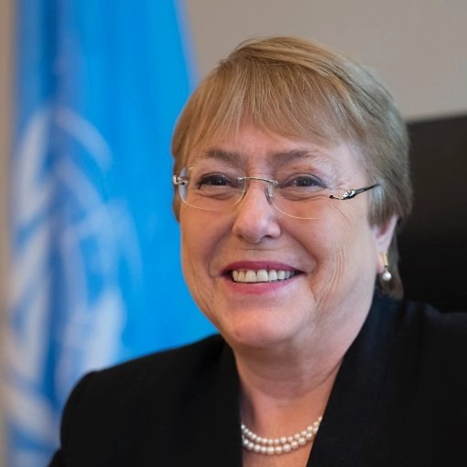 """Read more about the article Quote for the Week. Michelle Bachelet, UN High Commissioner for Human Rights: """"I am dismayed by recent measures that further undermine people's right to express critical views, and their ability to take part in the parliamentary elections scheduled in September."""""""