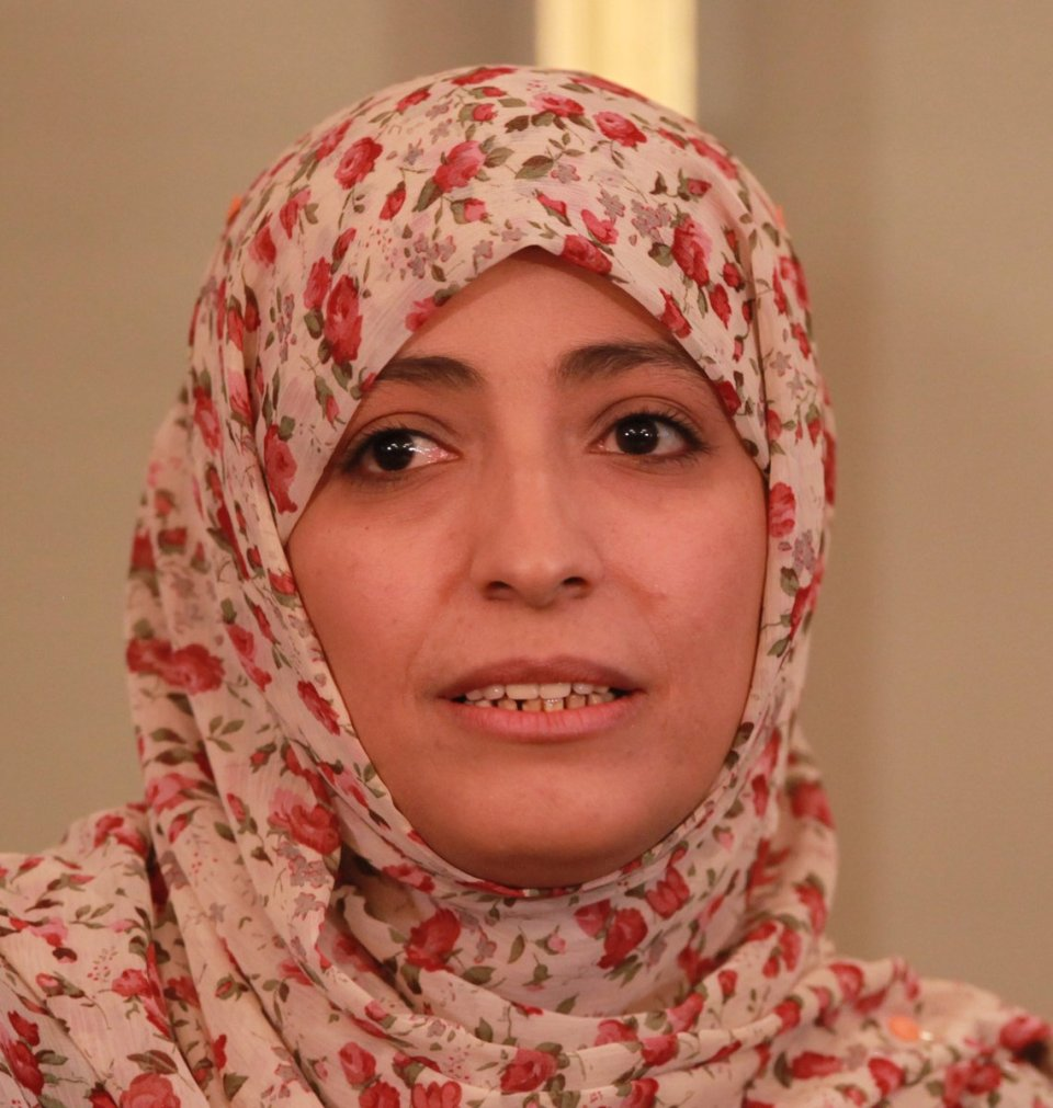 Tawakkol Karman, Yemen, Nobel Peace Prize winner, First Arab woman to win a nobel