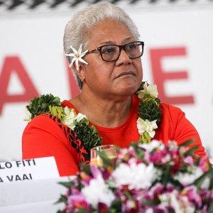 Samoa's first Female Prime minster Fiame Naomi Mata'afa