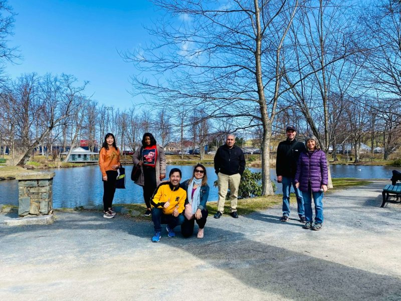 Halifax Newcomer Tour - Group Photo in the Public Gardens