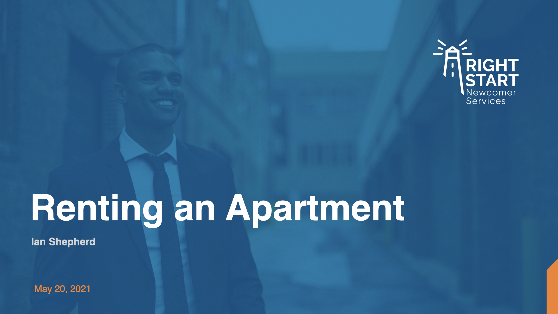 Learn Canadian English - Renting an Apartment slides
