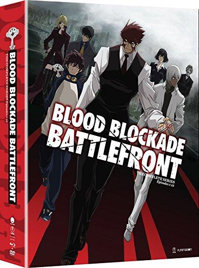 Blood Blockade Battlefront Limited Edition BlurayDVD