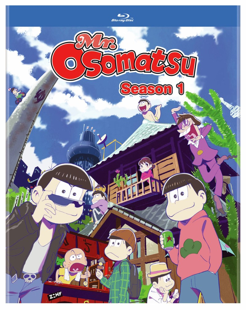 Mr. Osomatsu Season 1 Blu-ray