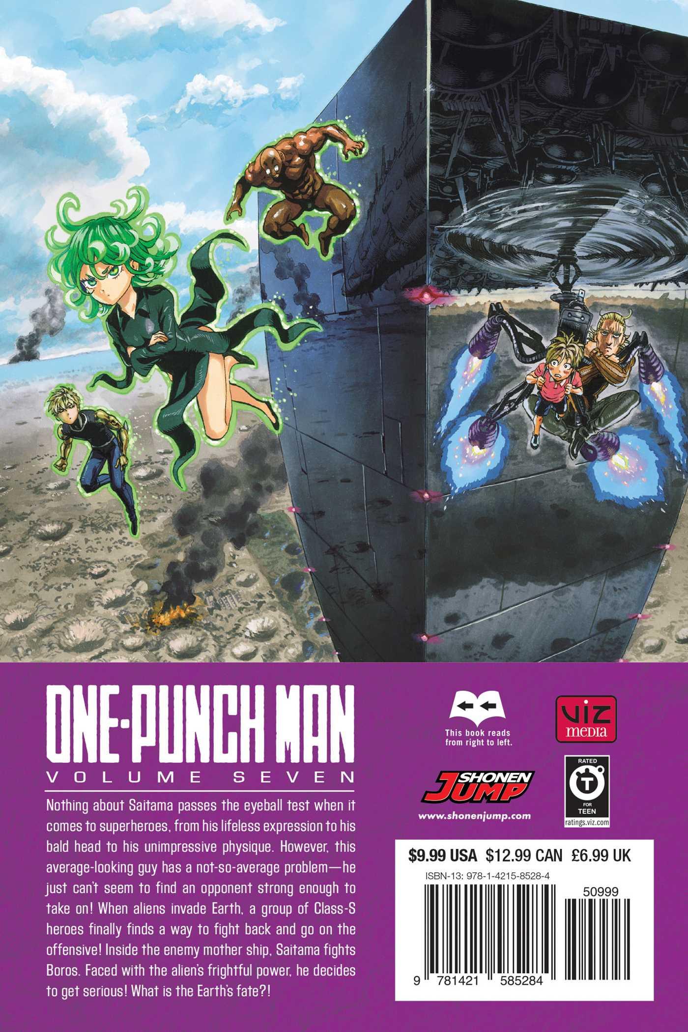 OnePunch Man Manga Volume 7