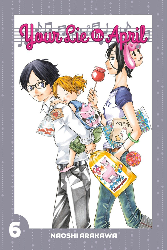 Your Lie in April Manga Volume 6