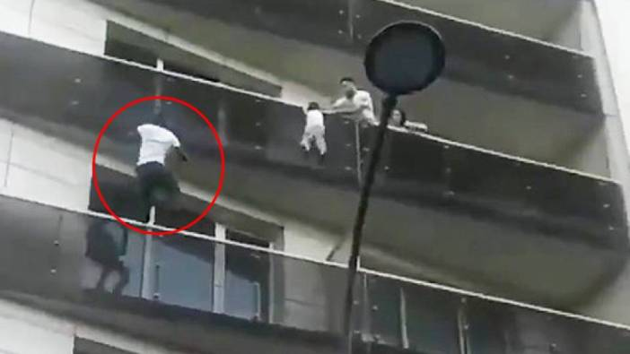 Image result for New French Citizen Was A Real-life 'Spiderman' For Child Hanging From Balcony