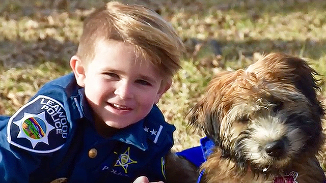 This Cute Boy And His Dog Are Inseparable   RTM - RightThisMinute