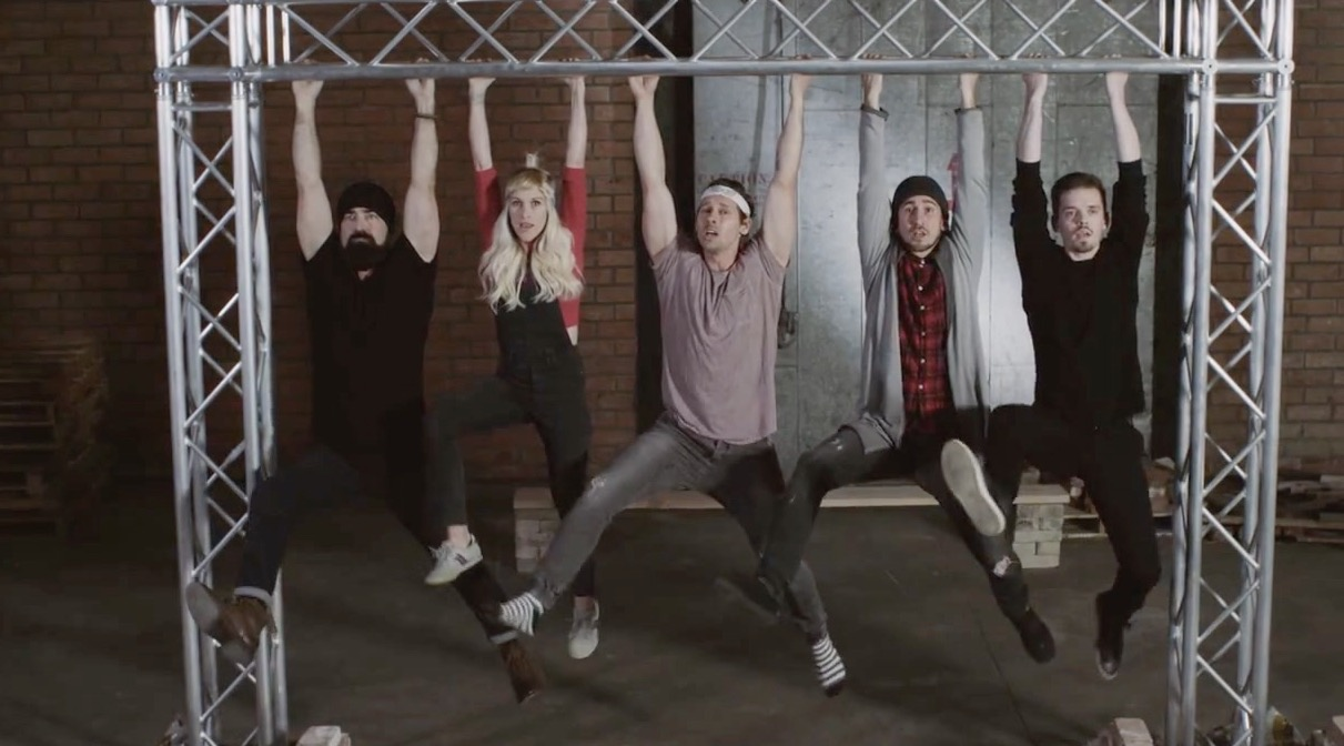 Walk Off The Earth 'Hold On' Music Video Challenge | RTM - RightThisMinute