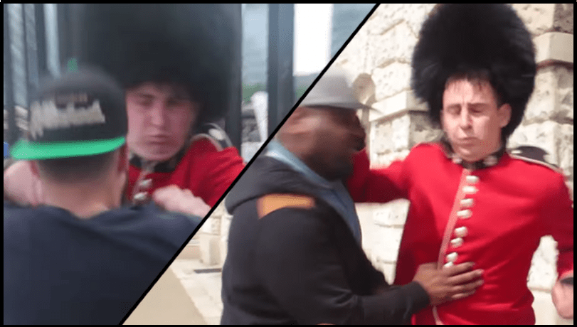 Looks Like This Guy Wasnt Cut Out to Be on the Queens Guard  RTM  RightThisMinute
