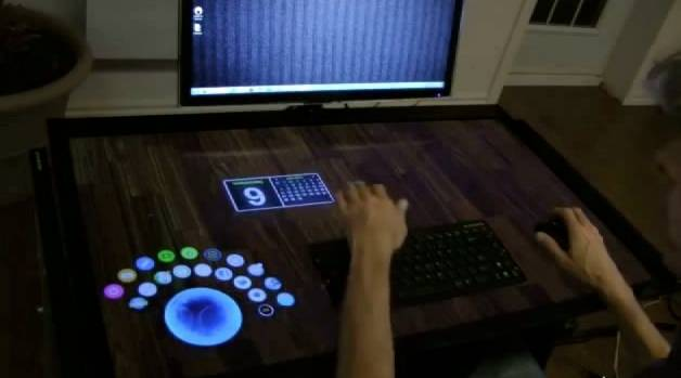 Touch Screen Desk