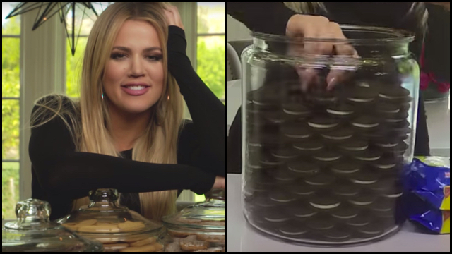 Khloe Kardashian is Very Anal About Her Cookie Jar  RTM