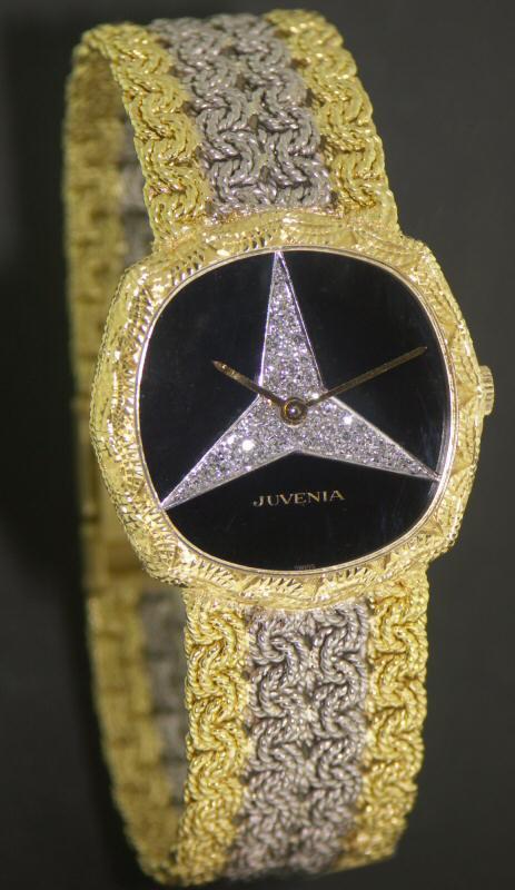 Juvenia 18kt Solid Gold Mercedes Benz 231 10487 Pre