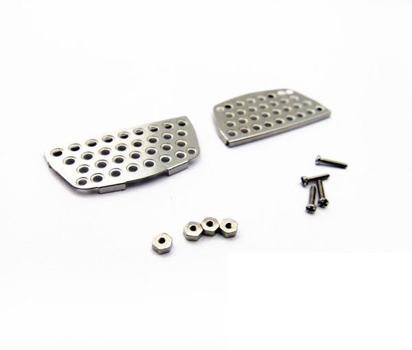 Metal step plate set for 1/14 Tamiya MAN TGX 18.540 / 26