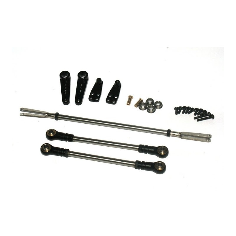 Synchronous Steering Kit for Alum. CNC Front/Mid Axle w