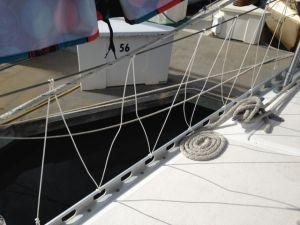 Foredeck netting