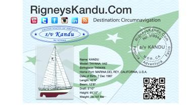 Kandu's postcard