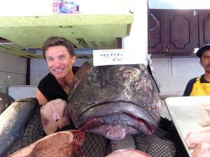 Joe Houska vs Sea Bass Beauty Contest in Ensenada