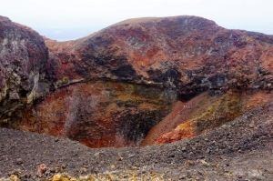 Multi-colors of sulfur vent