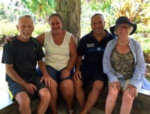 Ron, Chantale, Denis & Rosie