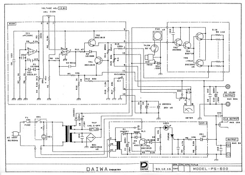 small resolution of daiwa ps 600 schematic