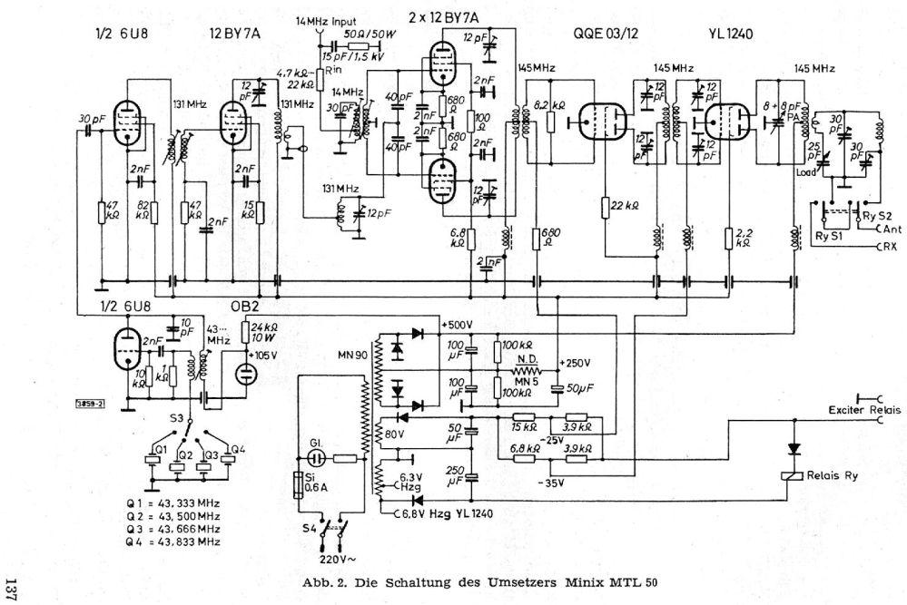 medium resolution of minix mtl 50 schematic