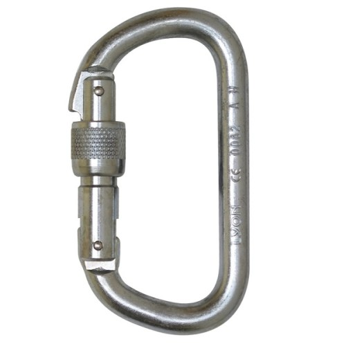 Foin D screwgate karabiner | Work at height & rope access equipment