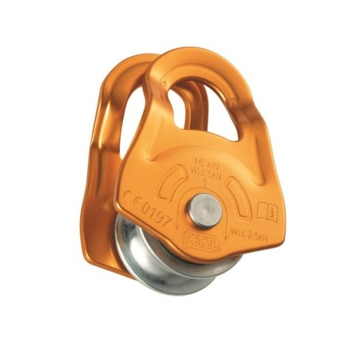 Petzl Mobile lightweight pulley | Petzl work at height & rope access equipment