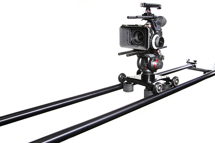 PortaRail Collapsible Camera Slider Rail. Super Strong and