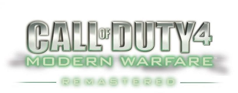 Call of Duty 4 Modern Warfare Remastered Download