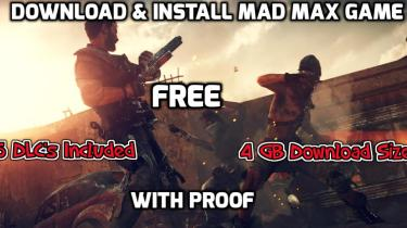 Download and Install Mad Max Game - Rihno Games
