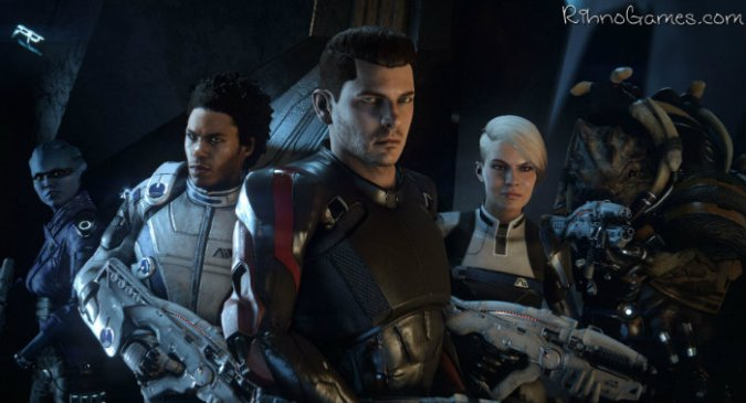 Mass Effect Andromeda Characters