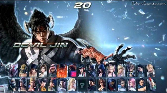 Tekken 7 Characters