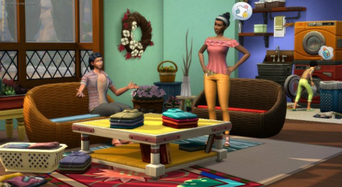 Download The Sims 4 Laundry Day Stuff Free