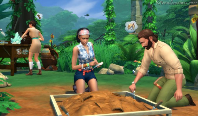 The Sims 4 Jungle Adventure Update