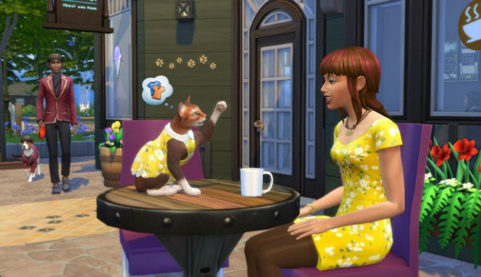 The Sims 4 My First Pet Update Download