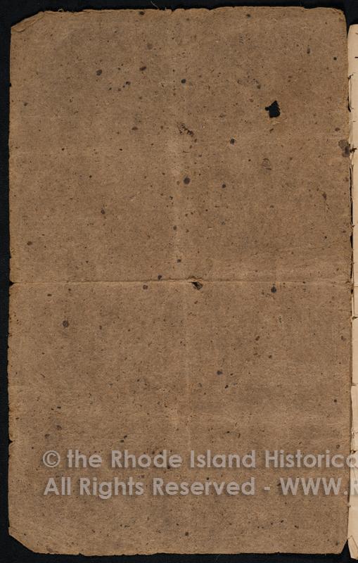 MSS230B1F5 - Rhode Island Historical Society