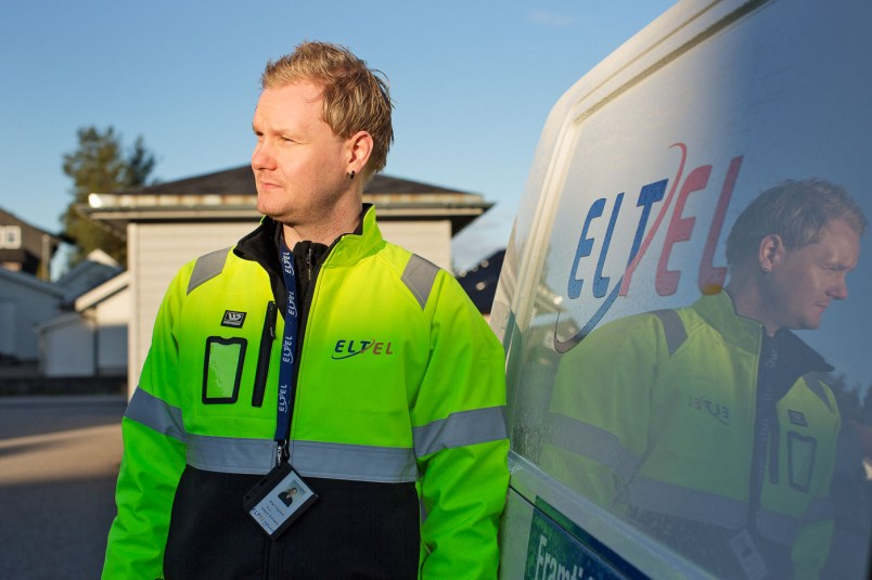 Brändikuvaus Eltelille. Brandimages for Eltel.