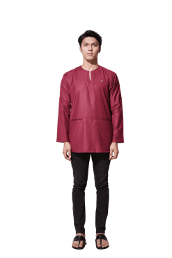 Blood Red Kurta Malique