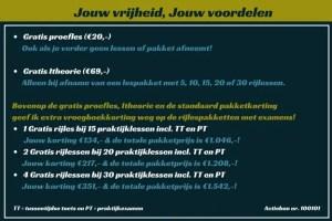 Gratis proefrijles in Zwolle bij de beste rijschool van Zwolle. Unieke lesmethode en lessen op maat. Voordelige rijlesprijzen.