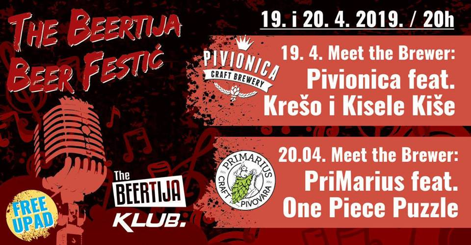 The Beertija beer festić!