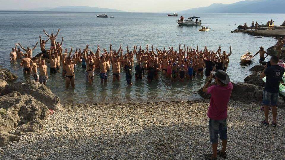 """5. Humanitarni plivački maraton """"Od Prasca do Prasca"""""""
