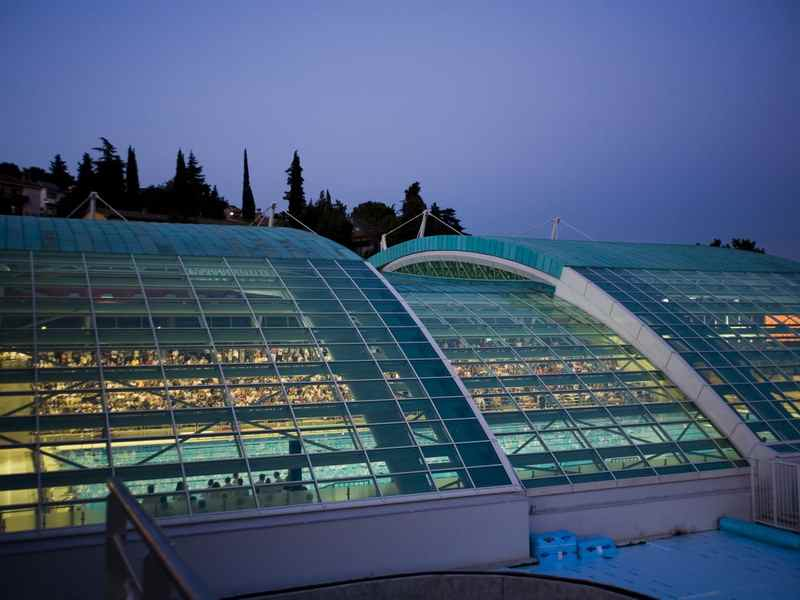 1 Olympic Pool 1 indoor swimming pool  Rijeka sport
