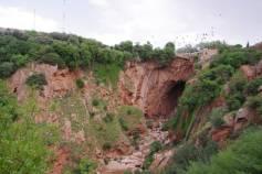 Von der Natur gestaltet die Brücke von Demnate