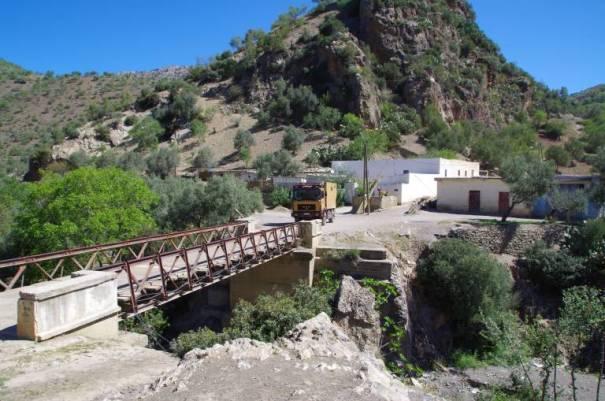 Brücke im Rif