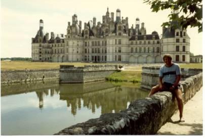 Frankreich Schloss Chambord