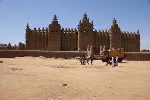 Mali Djenne-Moschee
