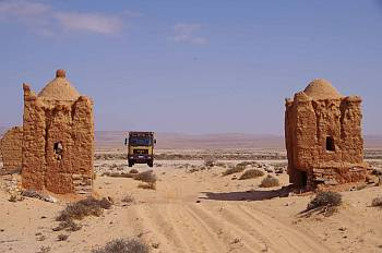 MAN in der Westsahara