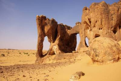 Mauretanien Elefantenfelsen