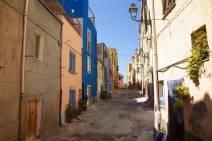 Sardinien Gassen im Ort