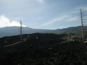 Sizilien Lava am Ätna